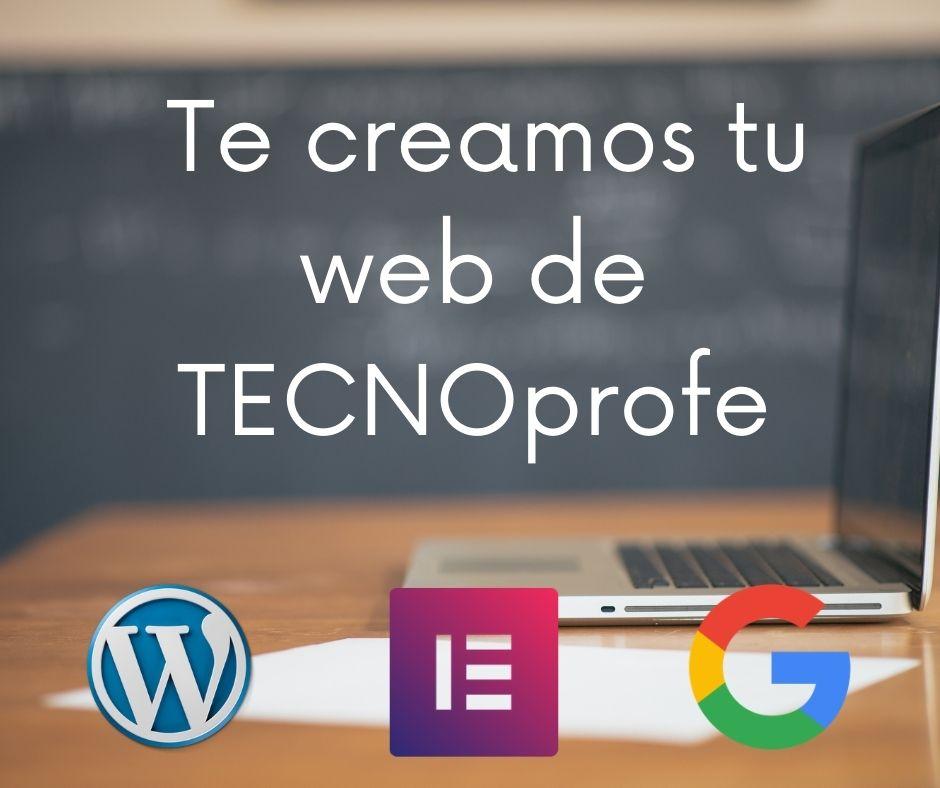WEB de profesores Tecnoprofe EDUCASEDE